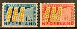 NETHERLANDS - MH* - 1963  - # 791/792 - Ongebruikt