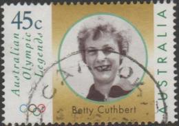 AUSTRALIA - USED 1998 45c Olympic Gold Medal Winners - Betty Cuthbert - Face - 1990-99 Elizabeth II