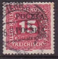 POLAND 1919 Krakow Fi D3 Used Signed Petriuk IID-91 - ....-1919 Übergangsregierung