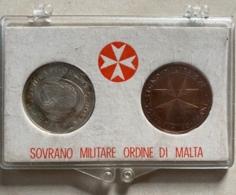 RARE BOITIER SOVRANO MILITARE ORDINE DI MALTA  JOLI PETIT COFFRET ORDRE DE MALTE VOIR PHOTOS - Malta
