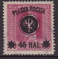POLAND 1918 Lublin Fi 24 Used Forgery - ....-1919 Übergangsregierung