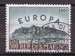 Saint Marin - San Marino 1961 Y&T N°523 - Michel N°700 (o) - 500l EUROPA - San Marino