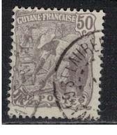 GUYANE     N°  YVERT   :    83    ( 2 )    OBLITERE       ( OB   6 / 35 ) - Guyane Française (1886-1949)
