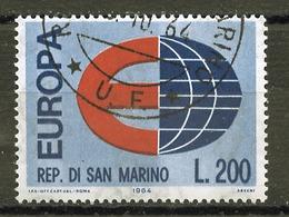 Saint Marin - San Marino 1964 Y&T N°639 - Michel N°826 (o) - 200l EUROPA - San Marino