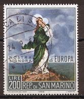 Saint Marin - San Marino 1966 Y&T N°686 - Michel N°879 (o) - 200l EUROPA - San Marino
