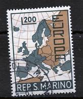 Saint Marin - San Marino 1967 Y&T N°697 - Michel N°890 (o) - 200l EUROPA - San Marino