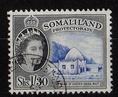 Somaliland Protectorate - QE II 1/30 Used 1958 - Somaliland (Protectorate ...-1959)