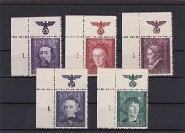 Generalgouvernement (GG), Bedeutende Deutsche Im Eckrand, Postfrisch - Occupation 1938-45