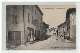 38 ROCHE LA GRANDE RUE N° 2 HOTEL BOULANGERIE BURALISTE MAGNARD EDIT MAGNARD - Sonstige Gemeinden