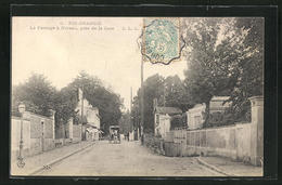 CPA Ris-Orangis, Le Passage à Niveau, Près De La Gare - Ris Orangis
