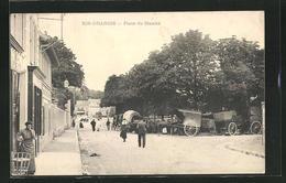 CPA Ris-Orangis, Place Du Marchè - Ris Orangis