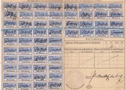 T.F Carte Sociaux-Postaux Alsace-Lorraine Colmar 1902 - Steuermarken