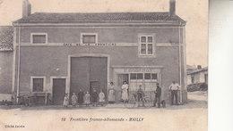 FRONTIERE  FRANCO ALLEMANDE  MAILLY - Autres Communes