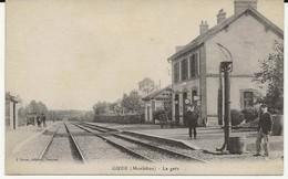56- 2403  -    GUER     -  La Gare - Guer Coetquidan