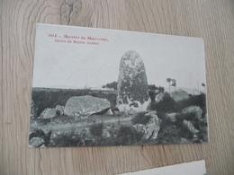 CPA 48 Lozère Menhir De Mazevrac - France