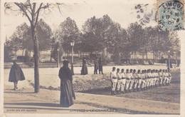 87-LIMOGES CHAMP DE JUILLET SOLDATS - Limoges