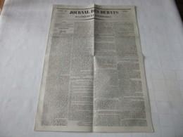 "ARIEGE - PIERRE SARDA Dit  "" TRAGINE "" LE BANDIT DE L'ARIEGE - 1841. - Periódicos"