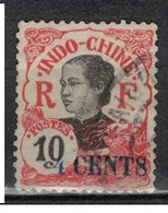 INDOCHINE        N°  YVERT   :   76   ( 3 )   OBLITERE       ( O B   6 / 36 ) - Used Stamps
