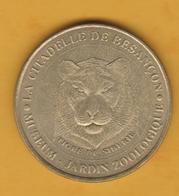 France - Jeton Touristique Monnaie De Paris - Citadelle De Besançon (25) - 2000 - Tigre De Sibérie - 2000