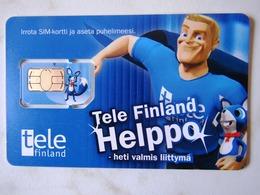 GSM SIM   TELE FINLAND    HELPPO  MINT - Finland