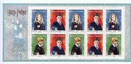 FRANCE - Carnet Harry Potter 2007 - Neuf** Non Plié -  50 % Faciale TVP - People