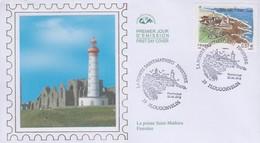 Enveloppe   FDC   1er   Jour   FRANCE   La  POINTE  SAINT  MATHIEU   PLOUGONVELIN    2012 - 2010-....