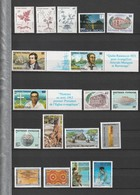 Polynésie Française Timbres Poste N°315 à 332 Neuf** - Collections, Lots & Séries