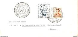 """Maroc,FDC 1er Jour; 1963 ;journée Des Nations Unies """"Casablanca;Morocco,Marruecos - Maroc (1956-...)"""