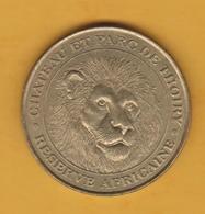 France - Jeton Touristique Monnaie De Paris - Château Et Parc De Thoiry (78) - Réserve Africaine - 2002 - Monnaie De Paris