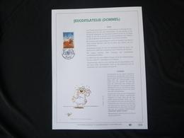 "BELG.1994 2578 FDC Filatelic Gold Card NL.version N° 223/500 : "" JEUGDFILATELIE (DOMMEL) "" - FDC"