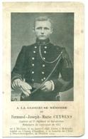 WO1 / WW1 - Doodsprentje Ceysens Fernand - Mechelen / Stuivekenskerke - Gesneuvelde - Décès