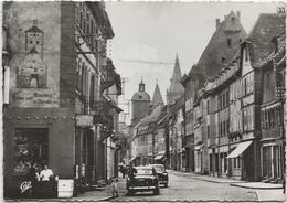 CPSM Wissembourg  Edition CAP Rue Nationale - Wissembourg