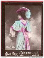 Image Vignette Cigarettes CLIMENT ALGER HAMEL  - Tirage De La Marque Etoile - Climent