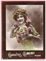 Image Vignette Cigarettes CLIMENT ALGER NAULET - Climent
