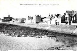 Saint Gilles Croix De Vie. Les Quais Près De La Passerelle à Saint Gilles Sur Vie. - Saint Gilles Croix De Vie