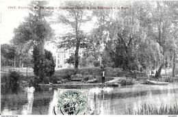 Gouvieux. Le Chateau Des Bouleaux Dans Le Parc. - Gouvieux