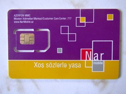 GSM SIM   NAR AZERBADJIAN  MINT - Azerbaiyan