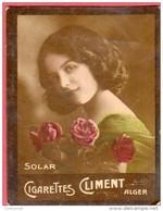 Image Vignette Cigarettes CLIMENT ALGER SOLAR - Climent