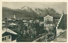 Deutschland - Garmisch Mit  Zugspitzmassiv -Ungel. - Garmisch-Partenkirchen