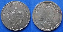 "CUBA - 1 Peso 2015 ""J.j. Martin Perez"" KM# 374 Second Republic (1962) - Edelweiss Coins - Kuba"