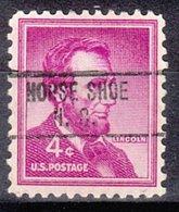 USA Precancel Vorausentwertung Preo, Locals North Carolina, Horse Shoe 748 - United States