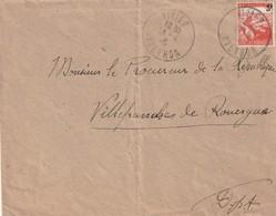 France 1946 : N°750 Seul Sur Lettre - Andere