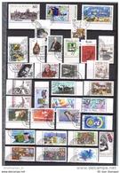 BUND BRD Sammlung /Lot 2 Used Nur Rand 65 Gelaufen + 25 Gummi + 2 KLB Auf 4 Seiten (4 Scan)(Album-674) FFF - Germany