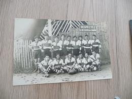 Carte Photo  30 Gard Alès Alais Terrain Des Sports 1930 équipe De Rugby - Alès