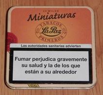 BOITE TABAC  LA PAZ  (boite Vide) - Boites à Tabac Vides
