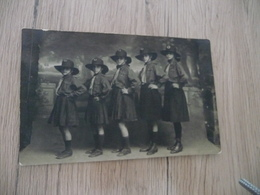Carte Photo  30 Gard Alès Alais éclaireurs Unionistes De France Scoutisme Scouts Identifiée Au Dos - Alès