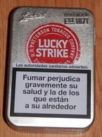 BOITE TABAC  LUCKY STRIKE  (boite Vide) - Boites à Tabac Vides