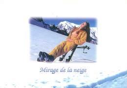 Sports D' Hiver  - Femme Nue Ski   G 236 - Nudi Adulti (< 1960)