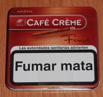 BOITE TABAC  CAFÉ CRÉME  (boite Vide) - Boites à Tabac Vides