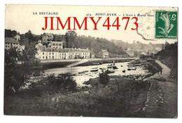 CPA - PONT AVEN 29 Finistère - L' Aven à Marée Basse - N° 474 - Edit. E L D - Pont Aven